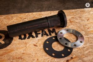 Flange Assembly, Stub, HPPE 90mm